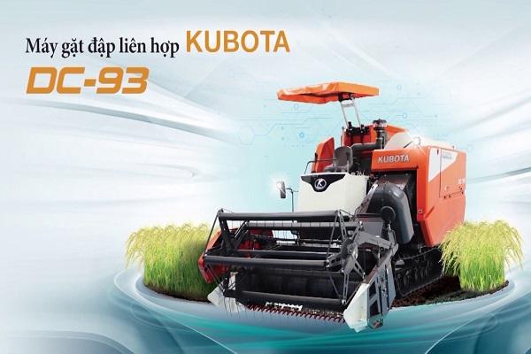 Máy gặt đập liên hợp Kubota DC93 mới
